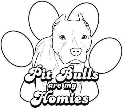 Pit Bulls Are My Homies Invitations By Admin CP523824