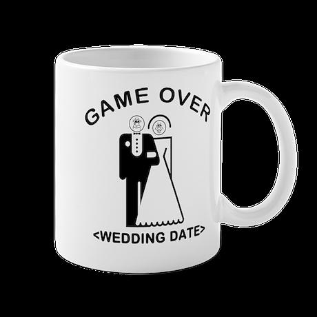 Game Over (Your Wedding Date) Mug