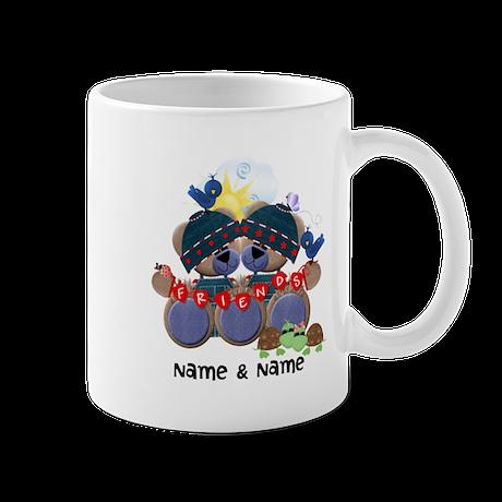 Customizable Bear Friends Mug