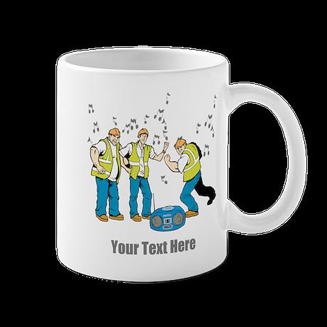 Dancing at Work. Your Text. Mug