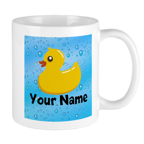 Personalized Rubber Ducky Mug