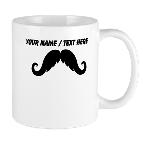 Personalized Mustache Small Mug