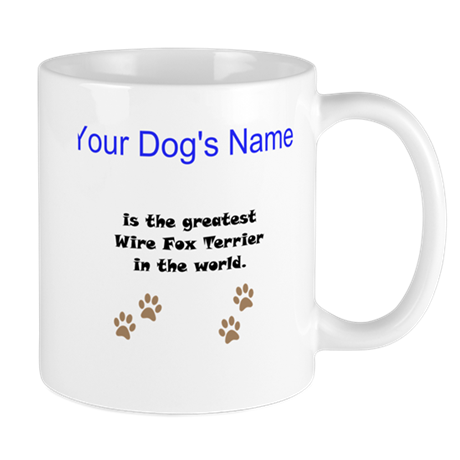 Greatest Wire Fox Terrier In The World Small Mug