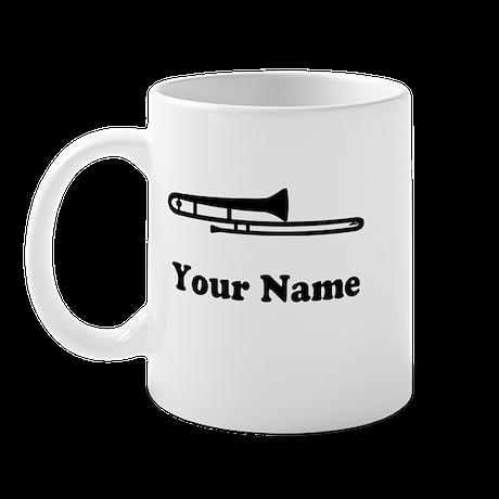 Personalized Trombone Mug