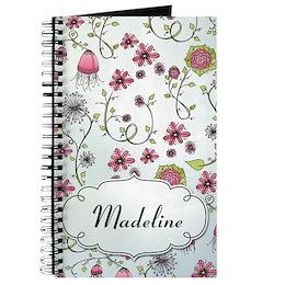 Custom Whimsical Journal
