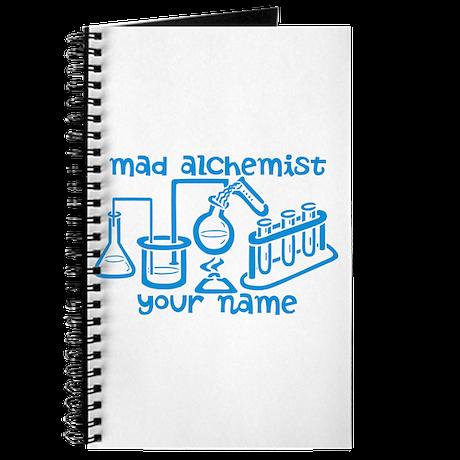 Personalized Mad Alchemist Journal