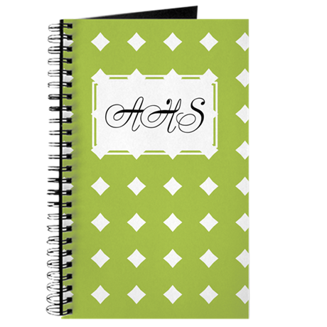 Diamonds green Journal