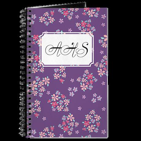 Flower Liberty Purple Journal