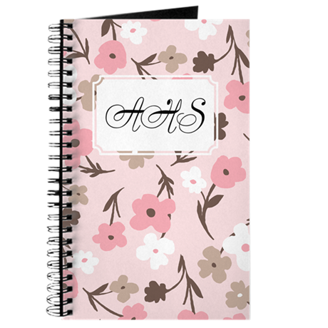 Flower Simple Pink Journal