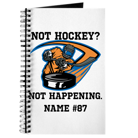 Personalized Not Hockey? Not Happening! Journal