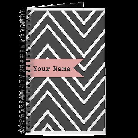 Custom Charcoal Journal