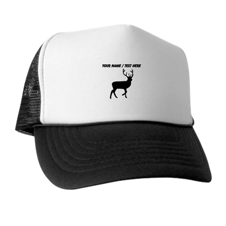 Personalized Black Elk Silhouette Trucker Hat