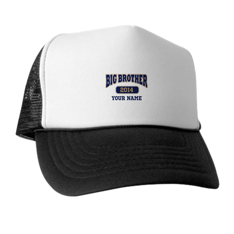 Personalized Big Brother Trucker Hat
