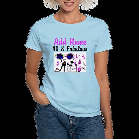 HAPPY 40TH BIRTHDAY Women's Light T-Shirt