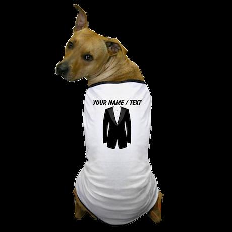 Custom Tuxedo Dog T-Shirt