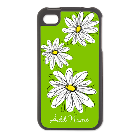 modern daisy - custom iPhone 4/4S Switch Case