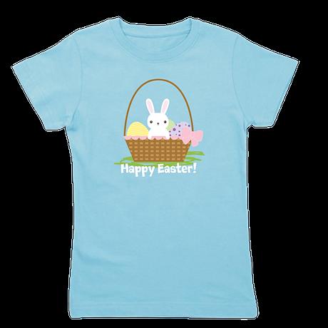 Cute Easter Bunny Girl's Tee