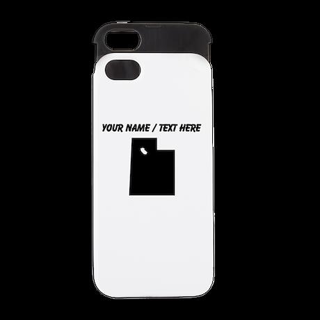 Custom Utah Silhouette iPhone 5 Wallet Case