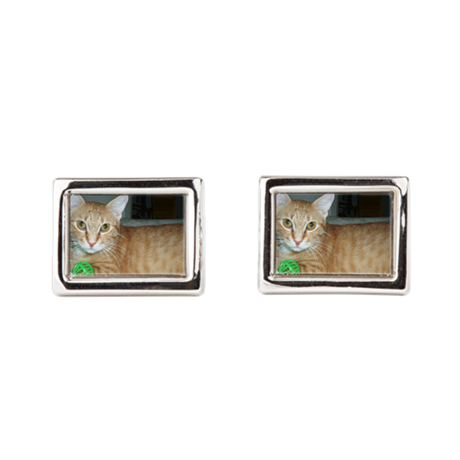 CUSTOMIZE Pet Photo Cufflinks