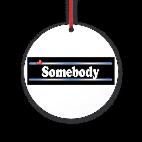 Custom Identity Ornament (Round)