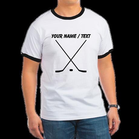 Custom Hockey Sticks T-Shirt
