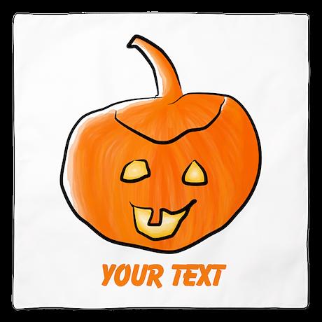 Halloween Lantern Design. Bandana