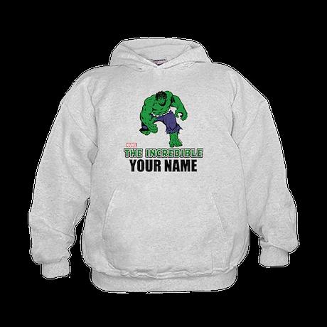 The Incredible Hulk Personalized Desig Kids Hoodie