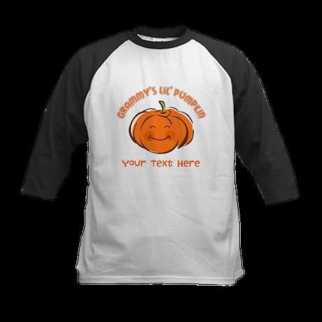 Grammy's Little Pumpkin Personalized Kids Baseball