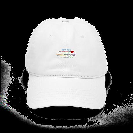 Handmade With Love Boys Customised Cap