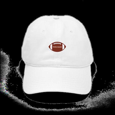 Custom name Football Cap
