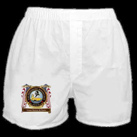 USS Theodore Roosevelt CVN-71 Boxer Shorts