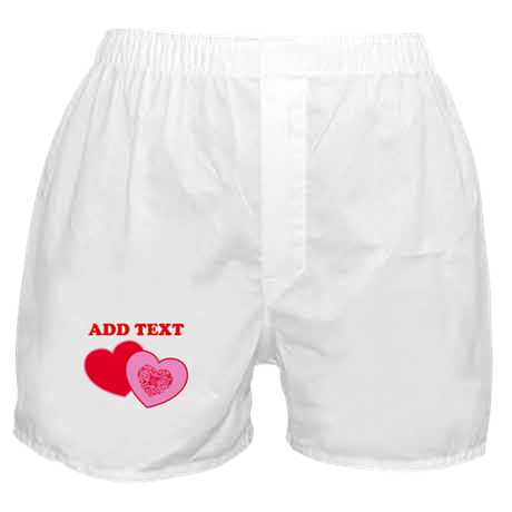 Valentine's Day Hearts Boxer Shorts