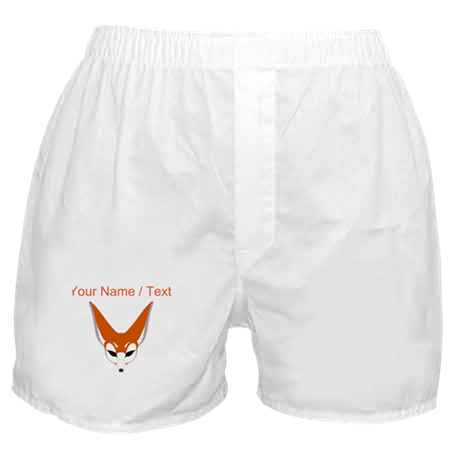 Custom Red Fox Boxer Shorts