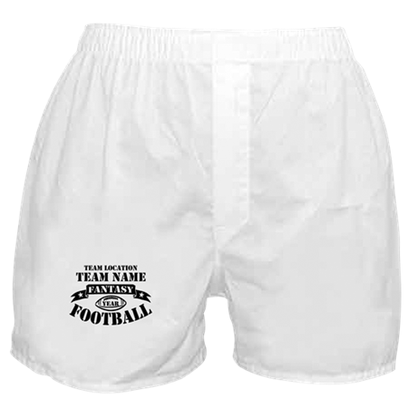 Personalized Fantasy Blk Boxer Shorts