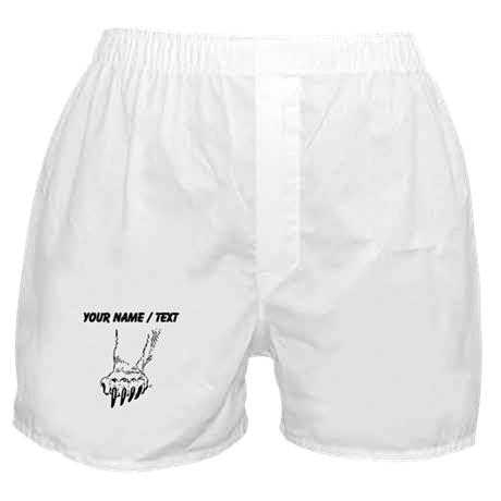 Custom Grizzly Bear Paw Boxer Shorts