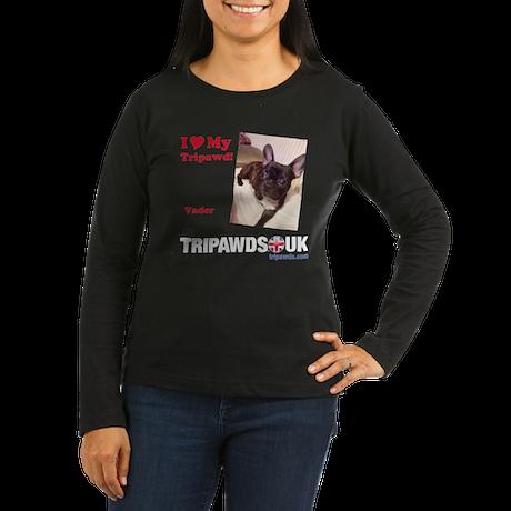 Personalized Tipawds UK Women's Long Sleeve Dark T