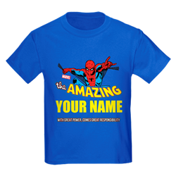 Personalized SpiderMan Kids T-shirt