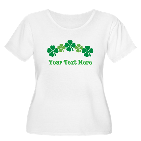 Irish St Patricks Personalized Women's Plus Size S