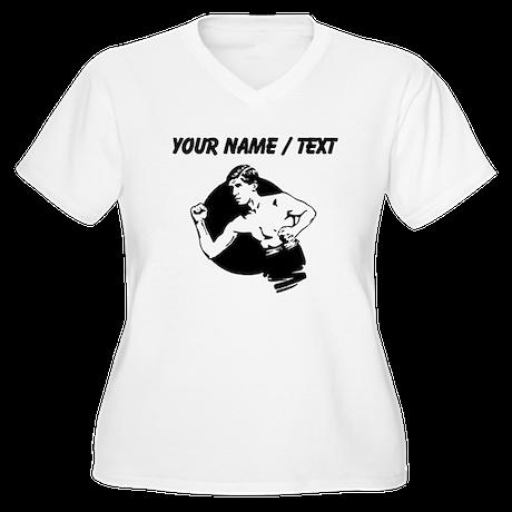 Custom Strongman Plus Size T-Shirt