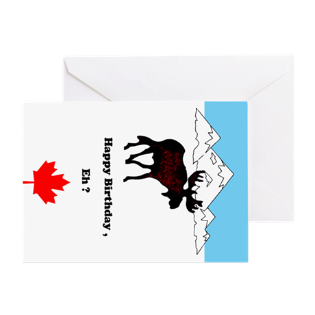 Canada Birthday Greeting Card