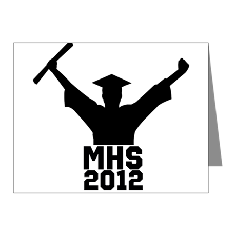 2012 Graduation Note Cards (Pk of 10)