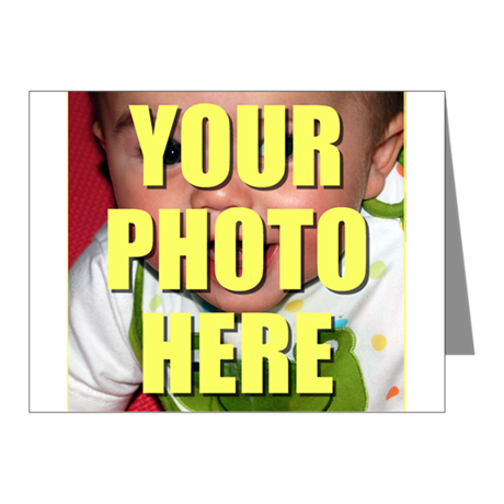 Custom Photo Note Cards (Pk of 10)