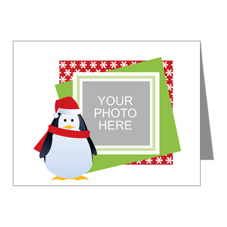 Personalized Christmas Note Cards (Pk of 10)