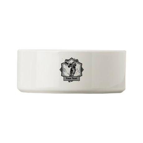 Personalized Boxer Small Pet Bowl