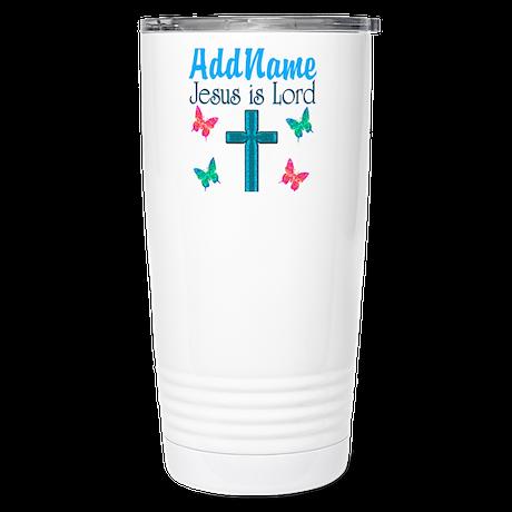 JESUS IS LORD Stainless Steel Travel Mug