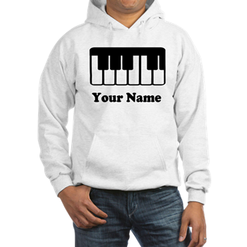 piano hoodies