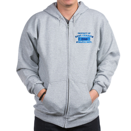 Personalized Property of Dogo Canario Zip Hoodie