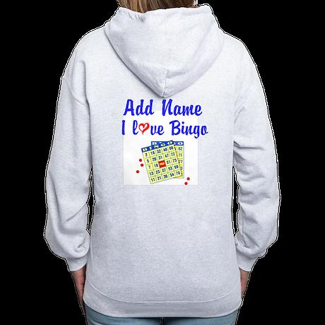 BINGO QUEEN Women's Zip Hoodie