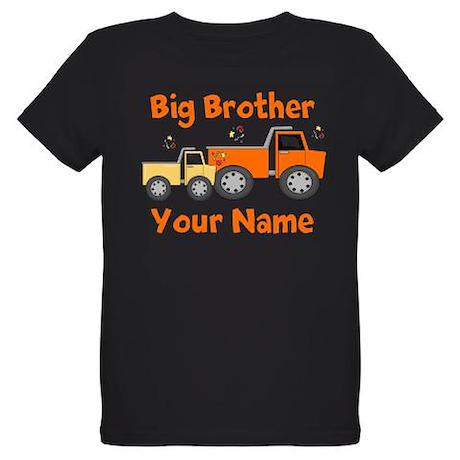 Big Brother Truck Organic Kids T-Shirt (dark)