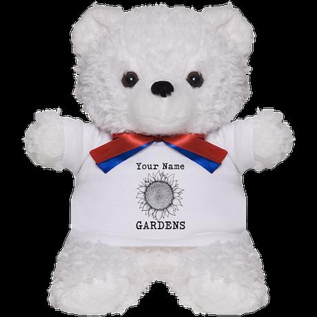 Custom Garden Teddy Bear